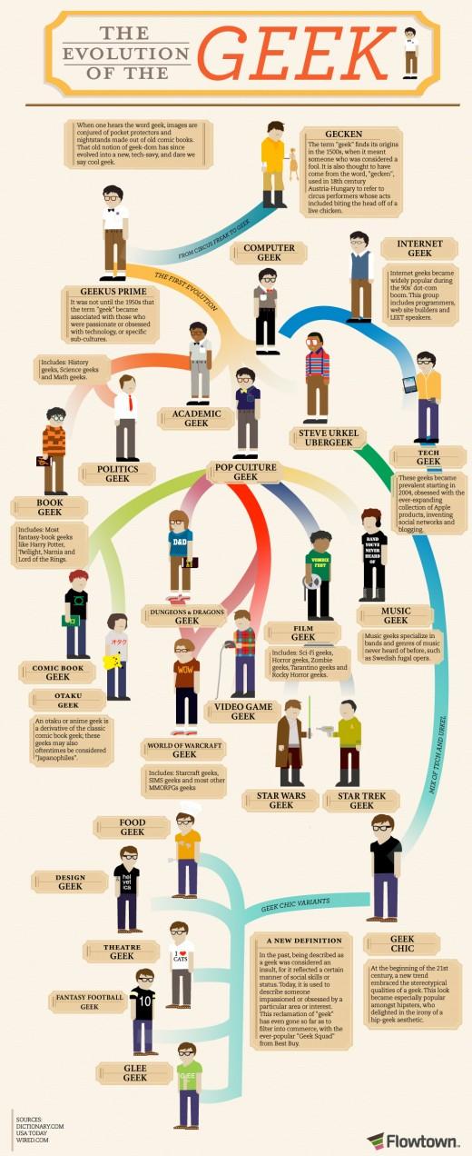 Infografía Geek