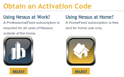 nessus home