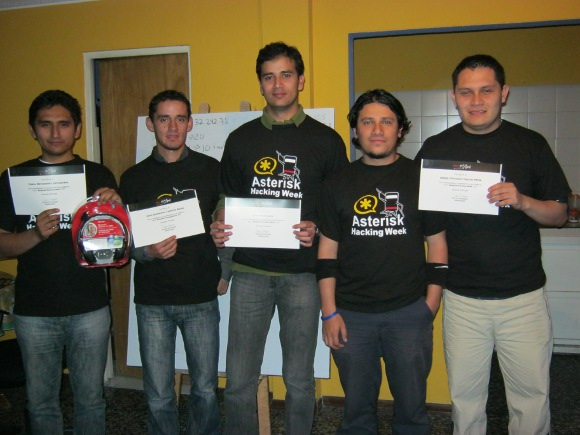 Los Graduados del Asterisk Hacking Week