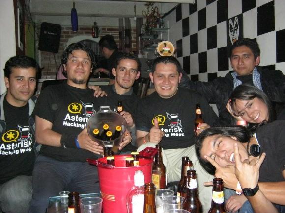 Asterisk Hacking Week  - Celebración