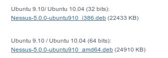 Nessus Ubuntu