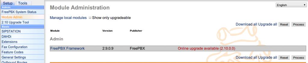 FreePBX2.10Update
