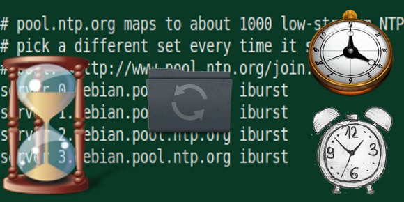 ntp ubuntu-debian