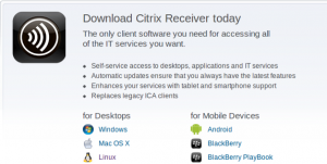 Citrix Receiver on Ubuntu