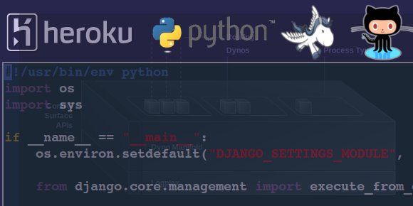 Django + Heroku + Github