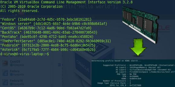 vboxterminal RAM