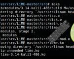 Adquisición de Memoria RAM en Linux con LiME