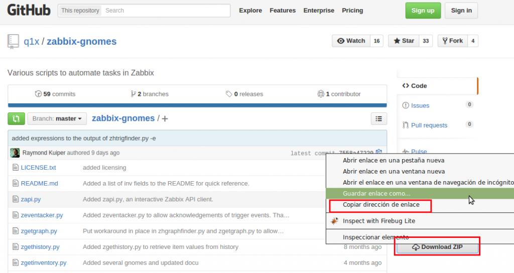Download zabbix-gnomes